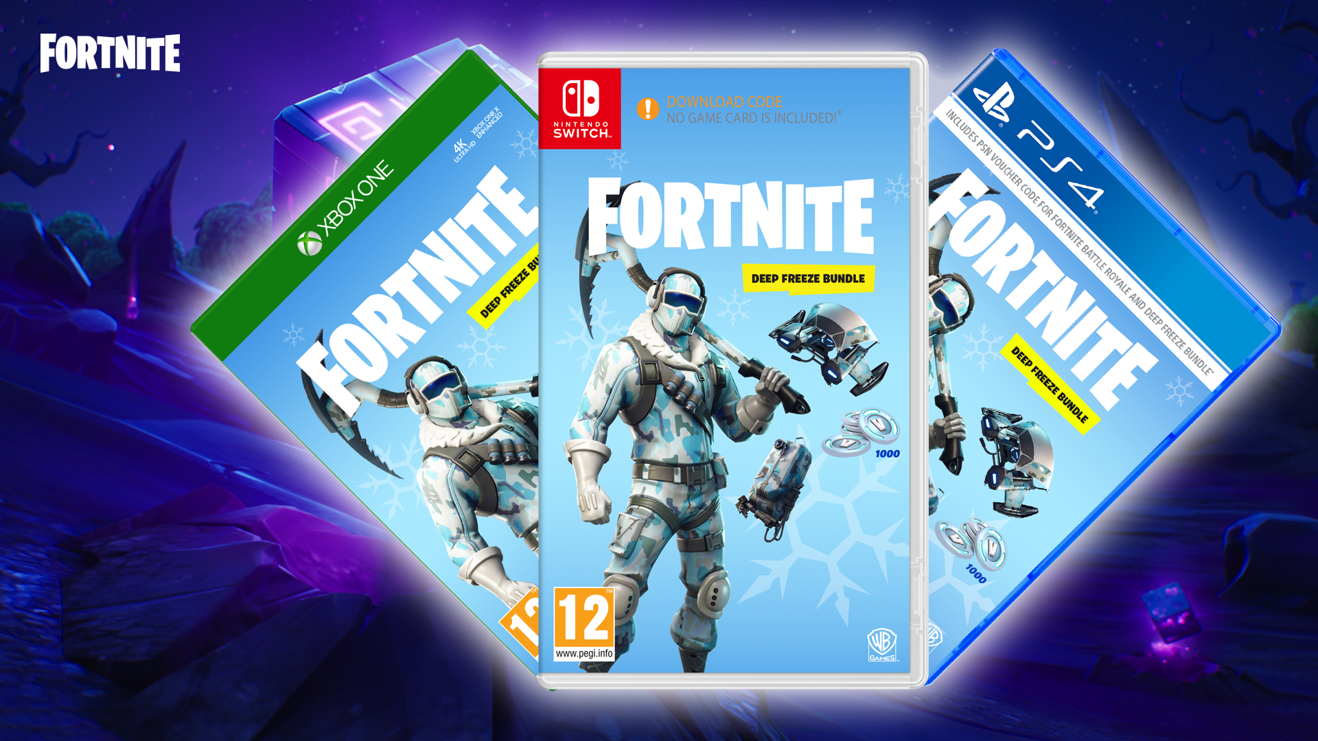 Fortnite Guide What S In The Physical Deep Freeze Bundle Trusted