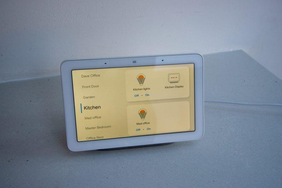 Google Home Hub smart devices
