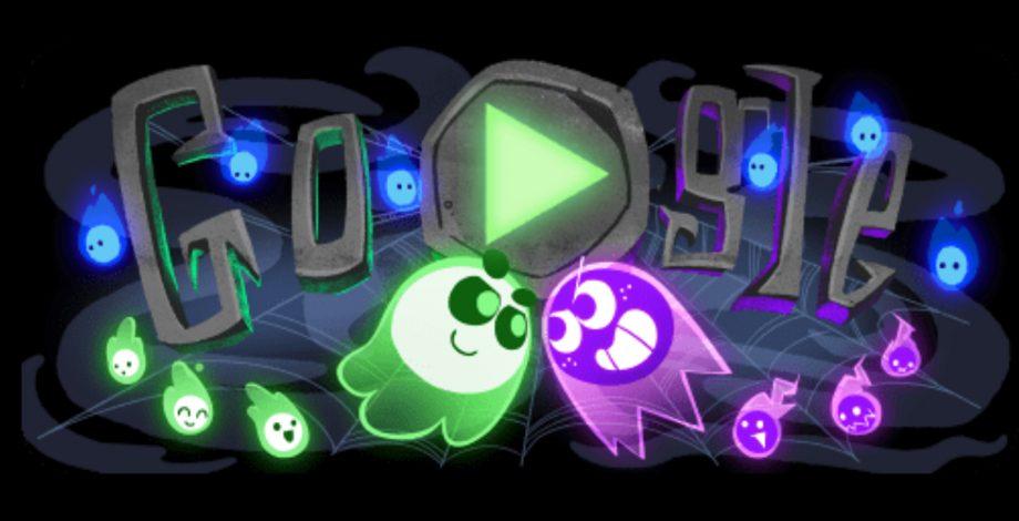 Google Halloween Doodle 18
