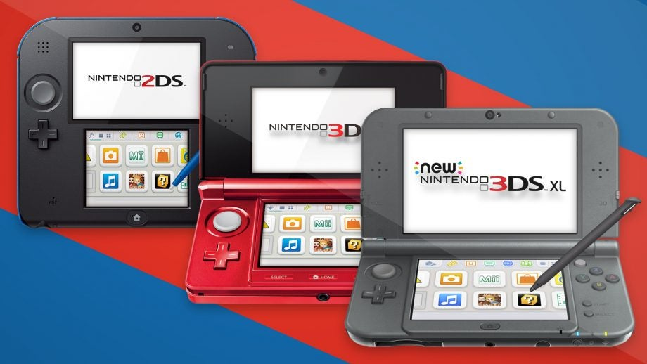 Nintendo 2DS vs 3DS vs 3DS XL