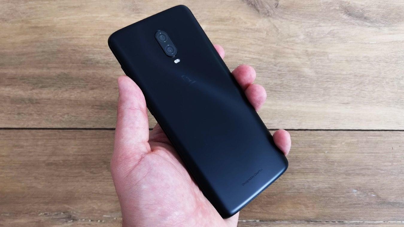 OnePlus 6T handheld S pattern Midnight Black