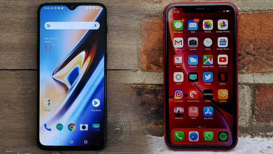 OnePlus 6T vs iPhone XR: Can OnePlus' best thwart Apple's most basic