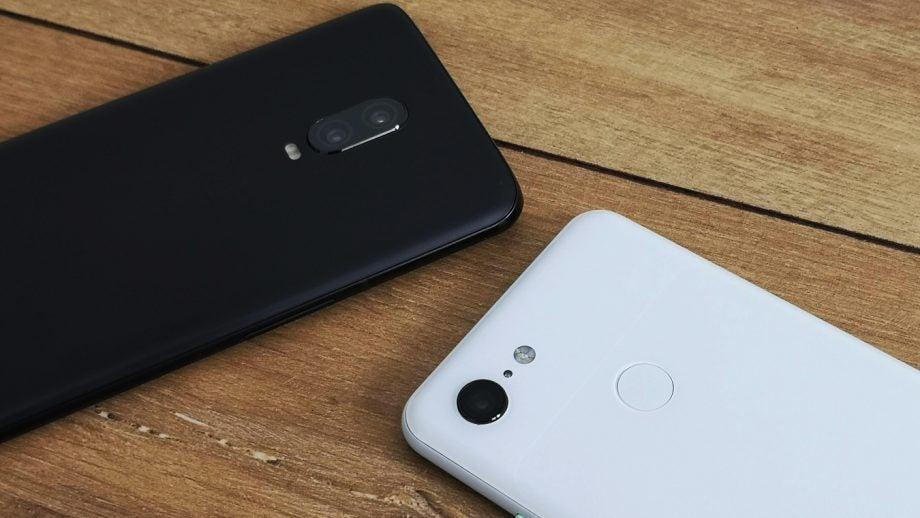 OnePlus 6T Pixel 3