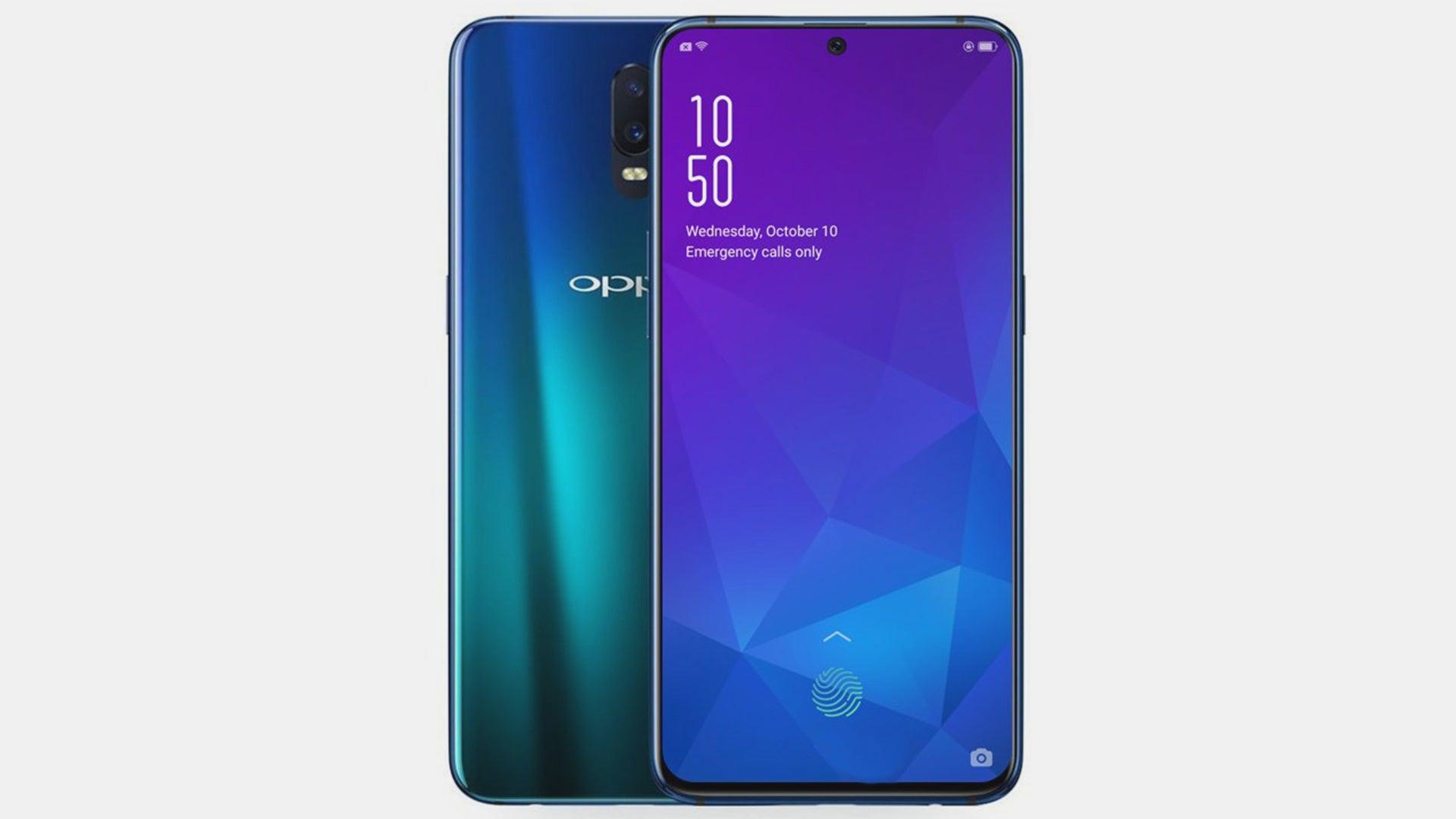 Oppo R19 Render Leak Could Offer Massive Oneplus 7 Design