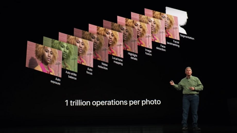 Phil Schiller explaining how Smart HDR works on the 2018 iPhones