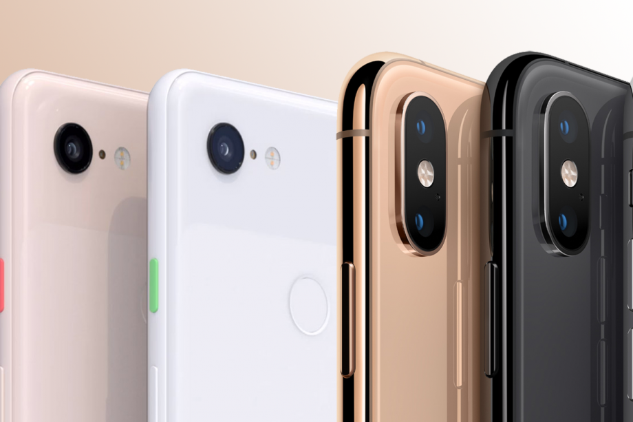 Google Pixel 3 vs iPhone XS
