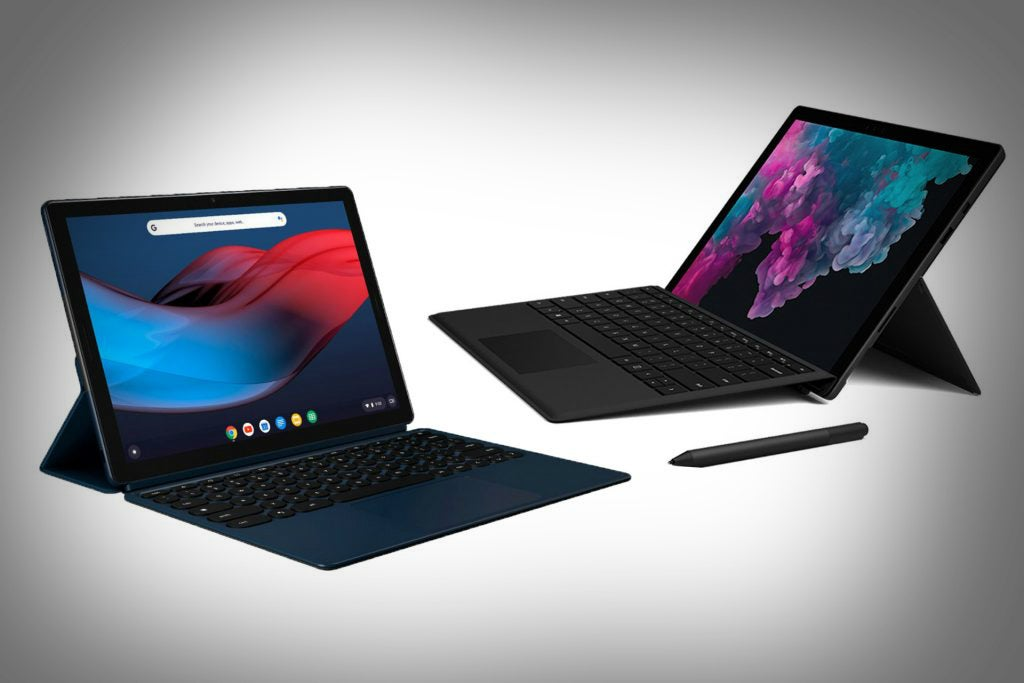 Google Pixel Slate vs Surface Pro 6: Which new convertible ...