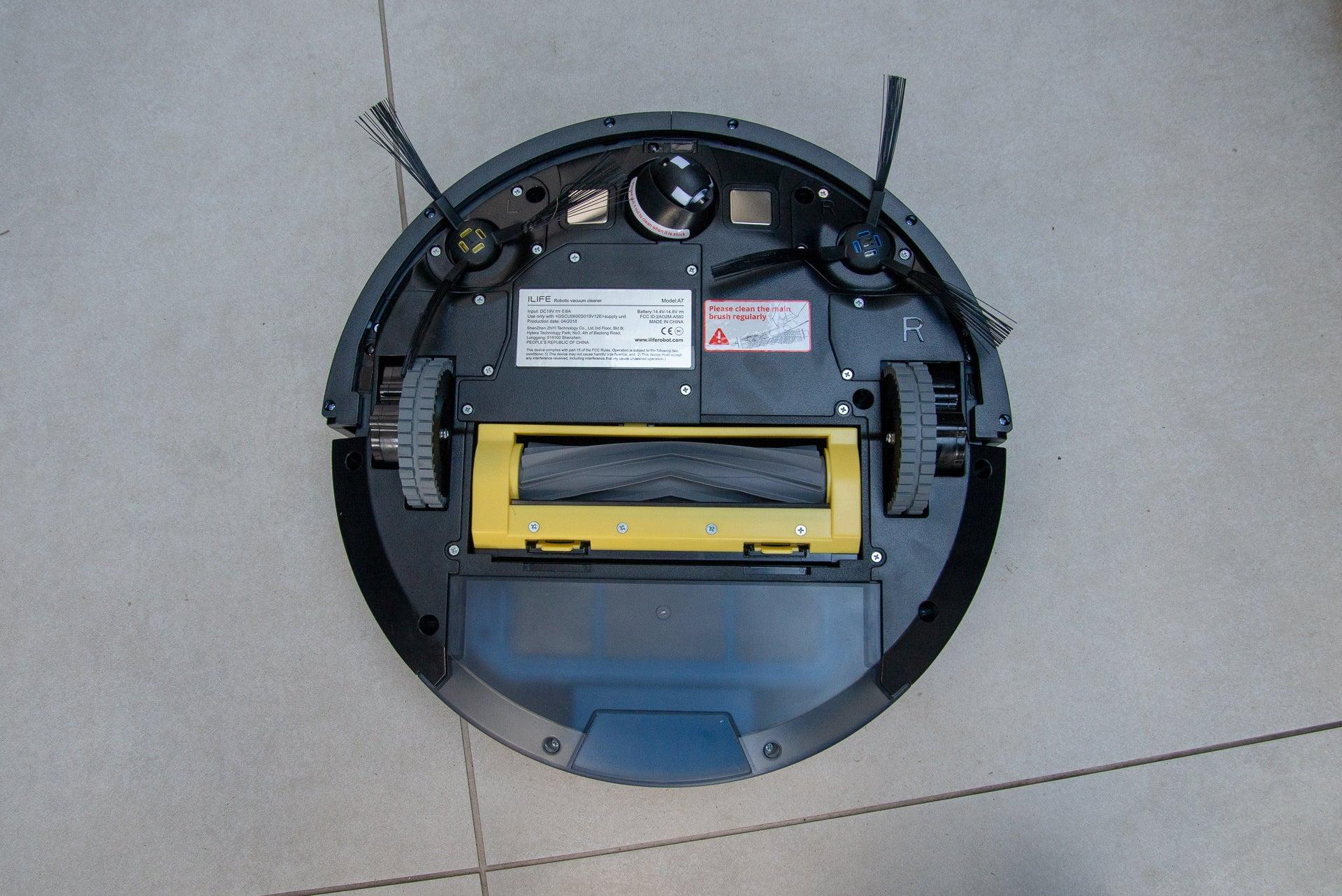 iLife A7 Robotic Vacuum Cleaner underneath