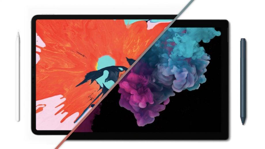 iPad Pro 2018 vs Surface Pro 6