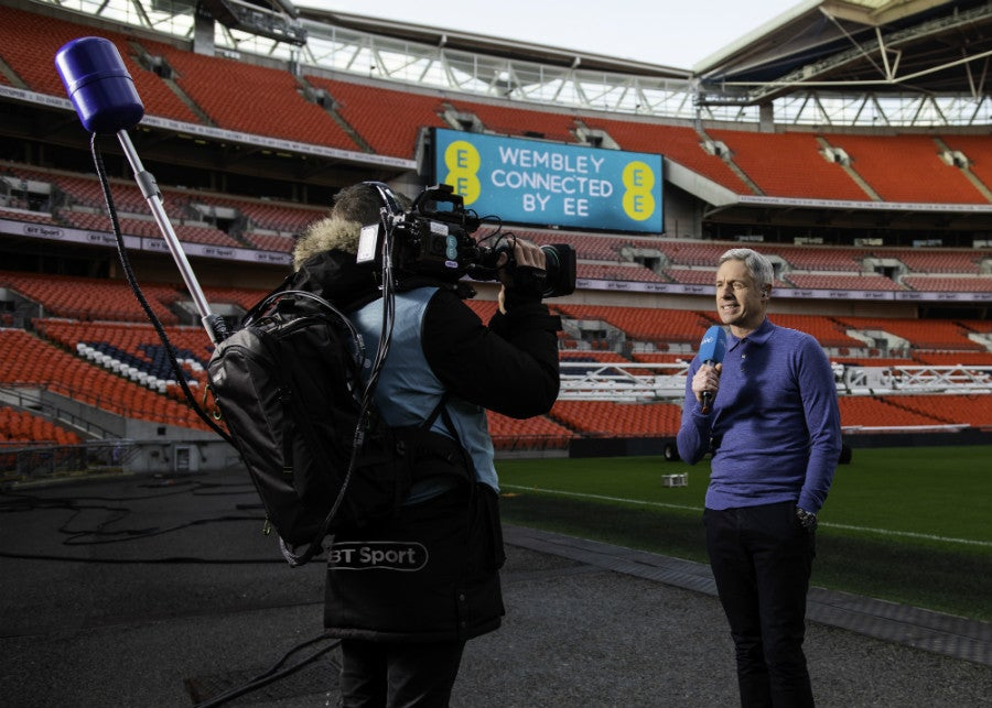 EE 5G Remote Broadcast with BT Sport