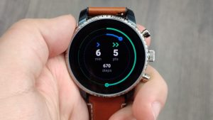 Fossil Q Explorist HR review Google Fit