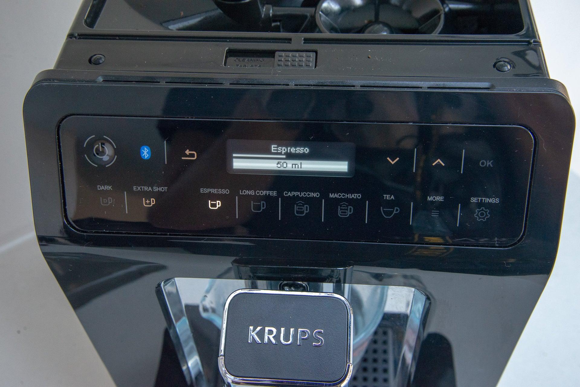 Krups Evidence EA893840 espresso amount