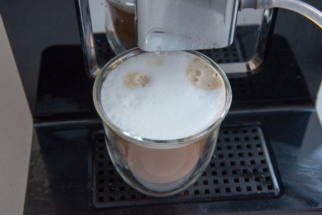 Krups Evidence EA893840 cappuccino