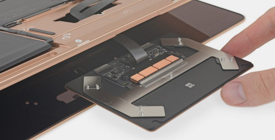 MacBook Air teardown 2018