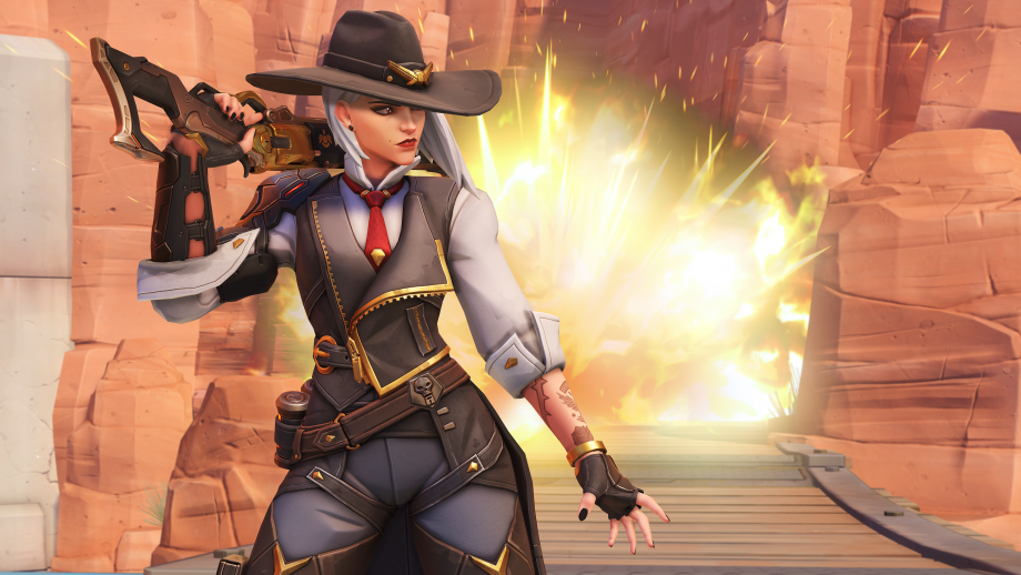 Overwatch Ashe: We go hands-on with the hero shooter's new