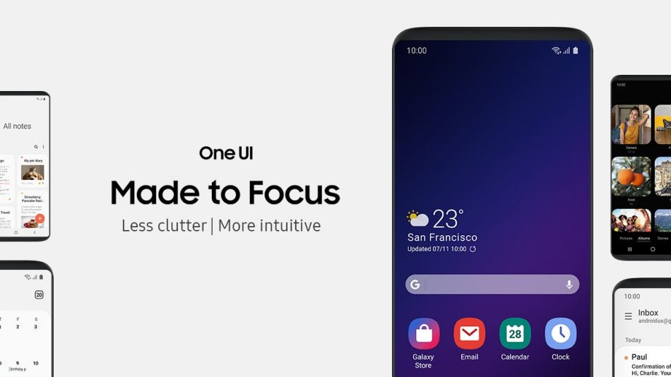 Samsung's new One UI is coming to more than just the S9 and Note 9 | Trusted Reviews