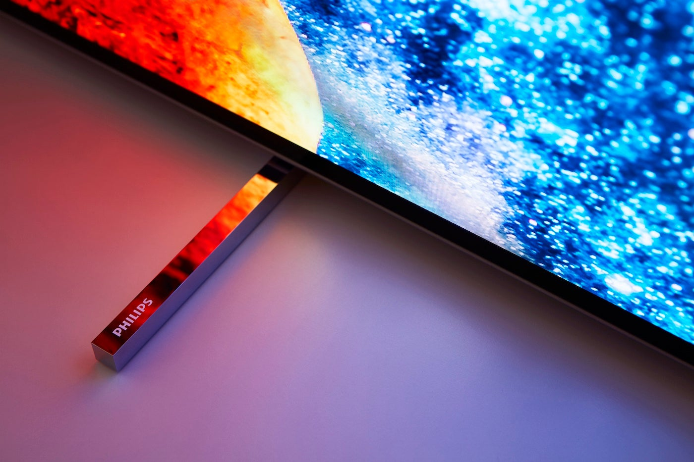philips 65oled803 may well be the most exciting oled tv yet. Black Bedroom Furniture Sets. Home Design Ideas