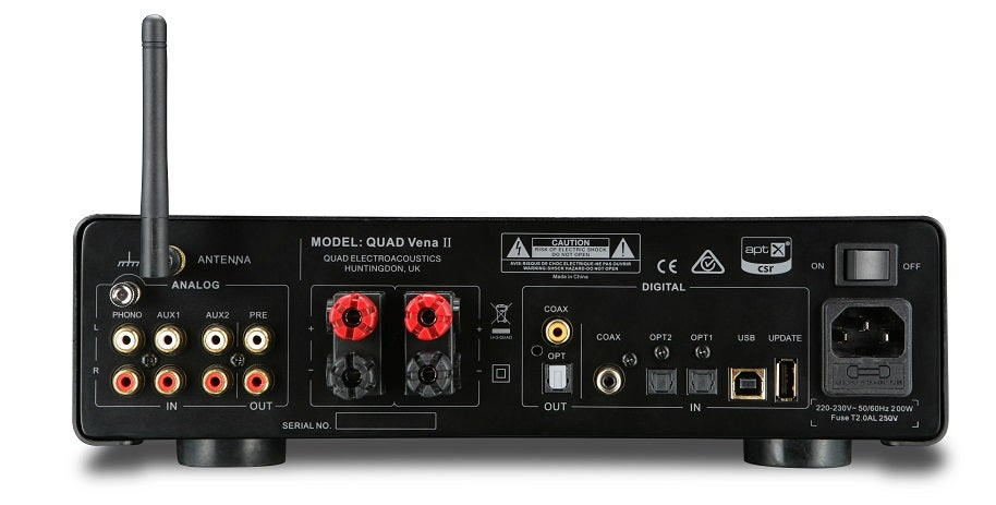 Quad launches new Vena II integrated amplifier | Trusted Reviews on fuse box art, fuse world, fuse demo review,