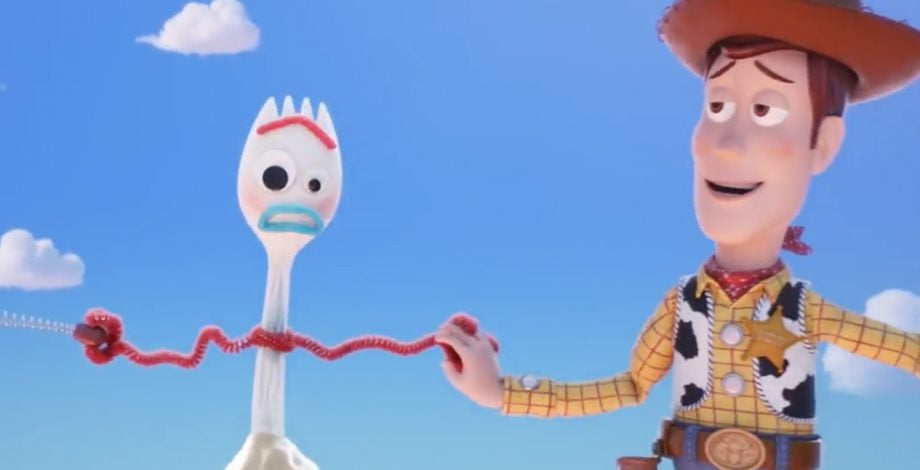 Toy Story 4 teaser trailer Forky spork
