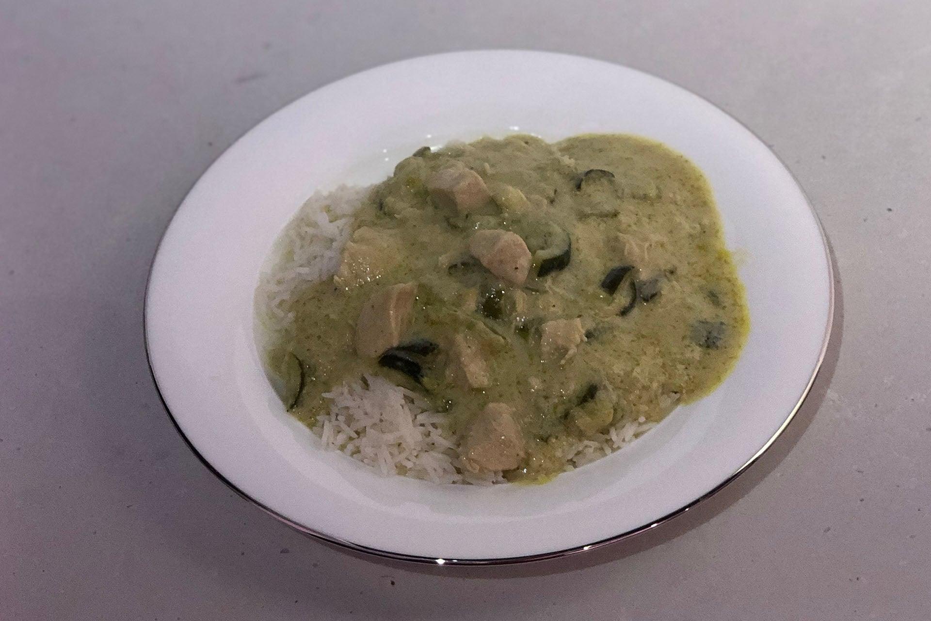 Vorwerk Thermomix Thai green curry