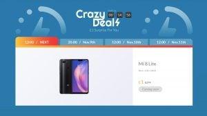 Xiaomi UK doorcrasher special