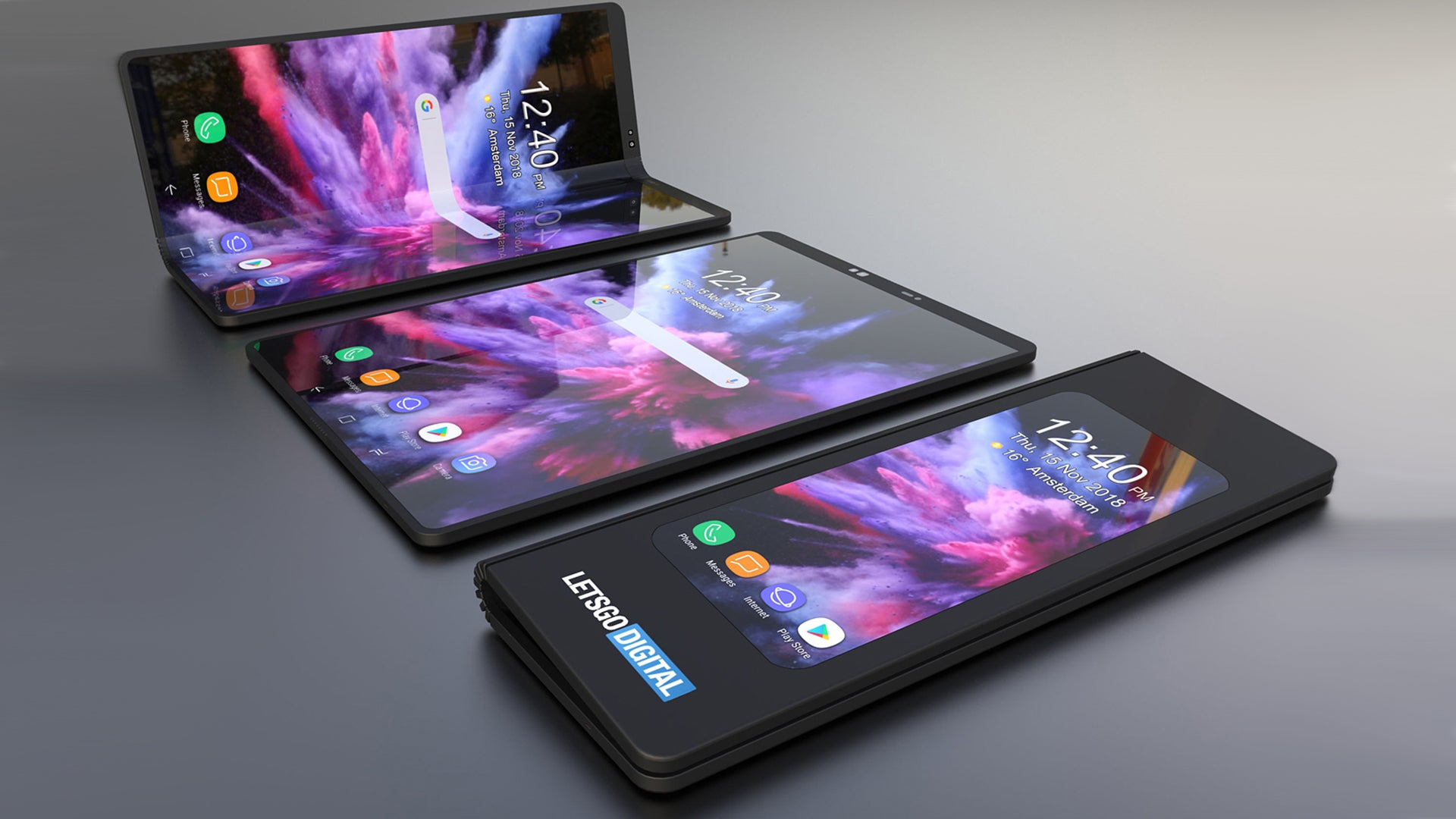 Galaxy X Looks Simply Stunning In New Samsung Foldable
