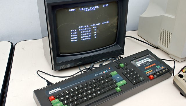 The best Christmas present of all-time has to be the Amstrad CPC 464
