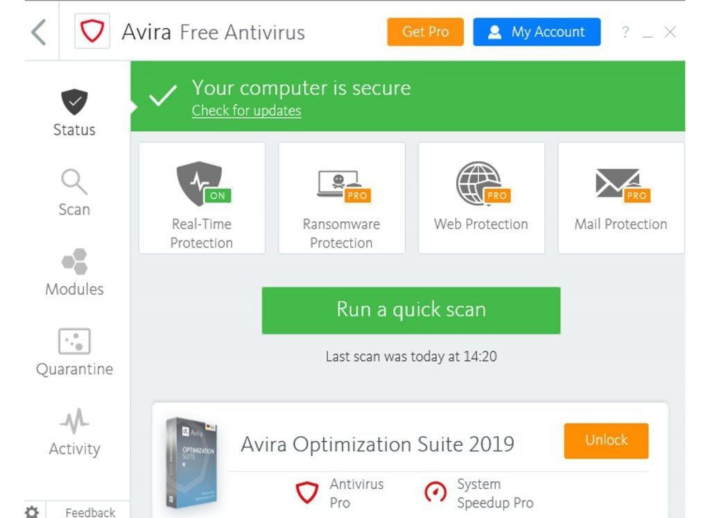 best antivirus reviews 2019