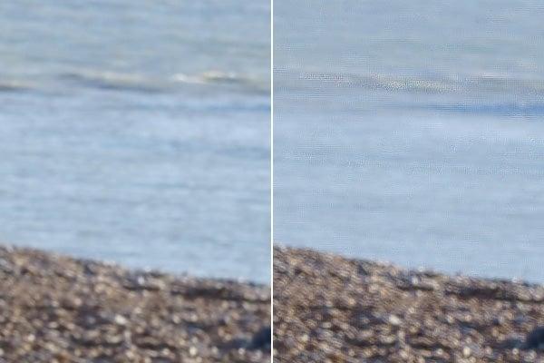 Sony A7R III pixel shift multi-shot artefacts