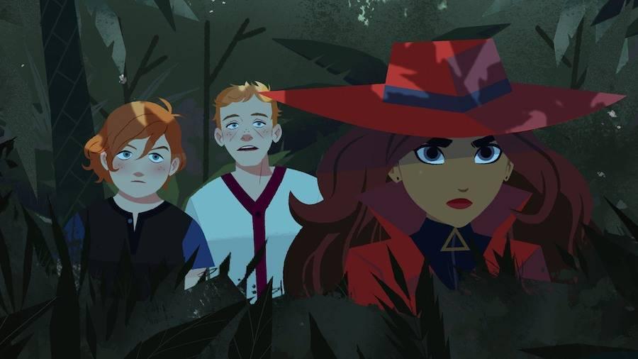 Carmen Sandiego Netflix teaser image 3
