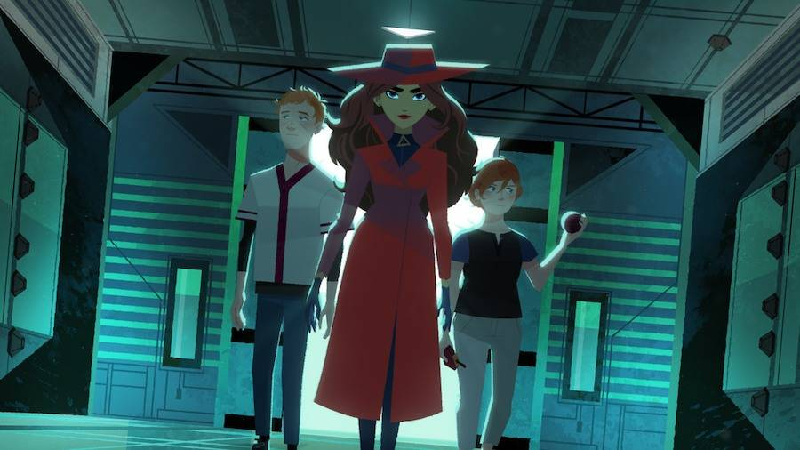 Carmen Sandiego Netflix teaser image 4
