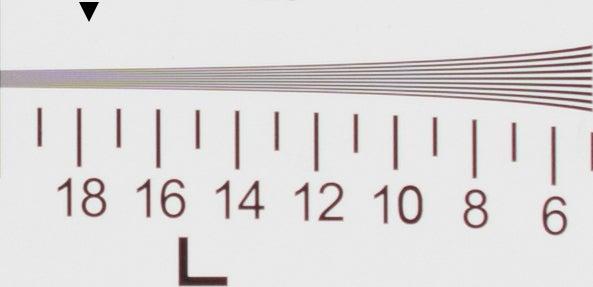 Canon G1 X Mark III - Resolution, ISO 100, raw + ACR