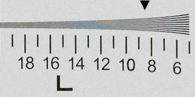 Sony A7R III resolution, ISO 12800