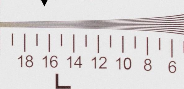 Canon G1 X Mark III - Resolution, ISO 800, raw + ACR