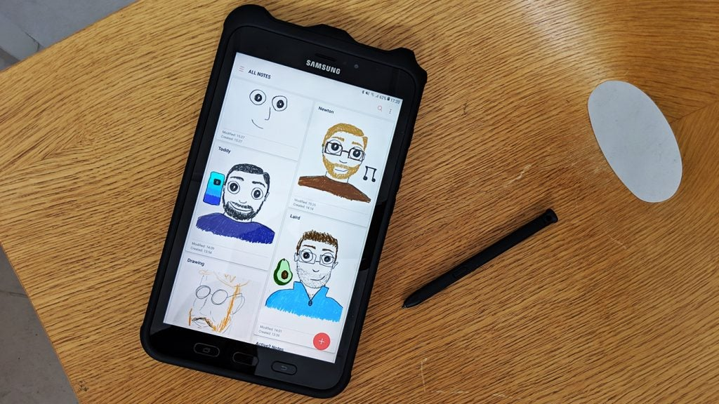 Samsung Galaxy Tab Active 2 drawings