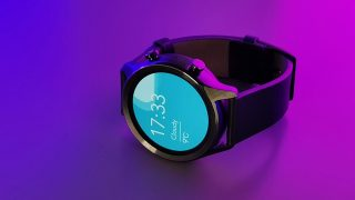 TicWatch C2 34 view coloured lighting