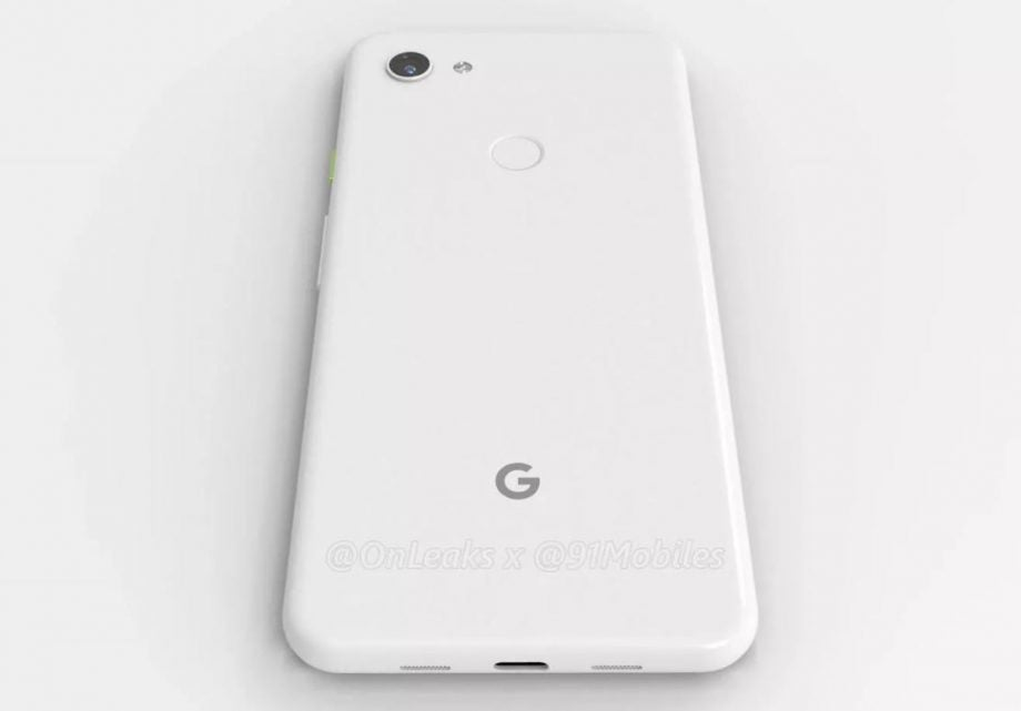Is this our best look yet at the Google Pixel 3a?