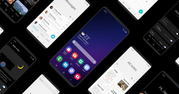 Samsung One UI press image