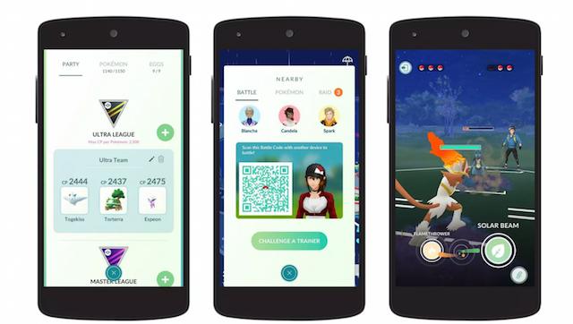 How to battle friends in Pokémon Go