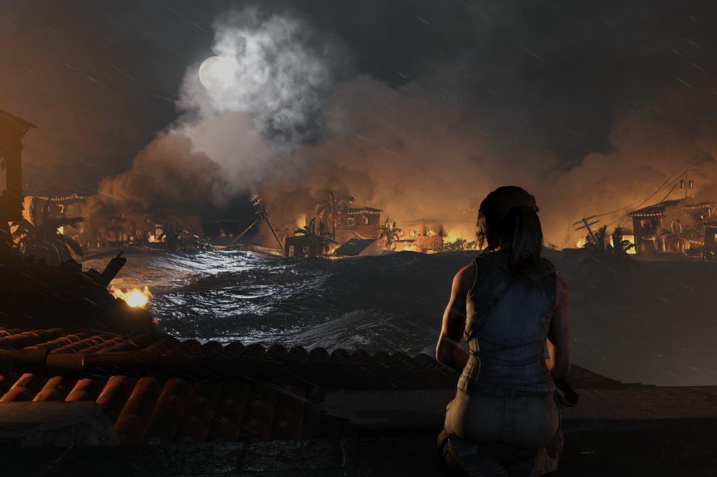 Nvidia Ray Tracing Shadow of the Tomb Raider