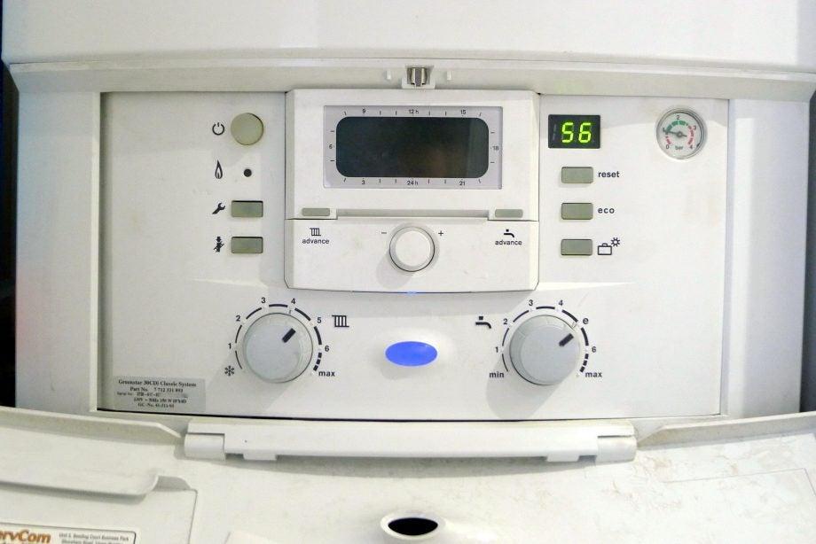 Boiler water temperature