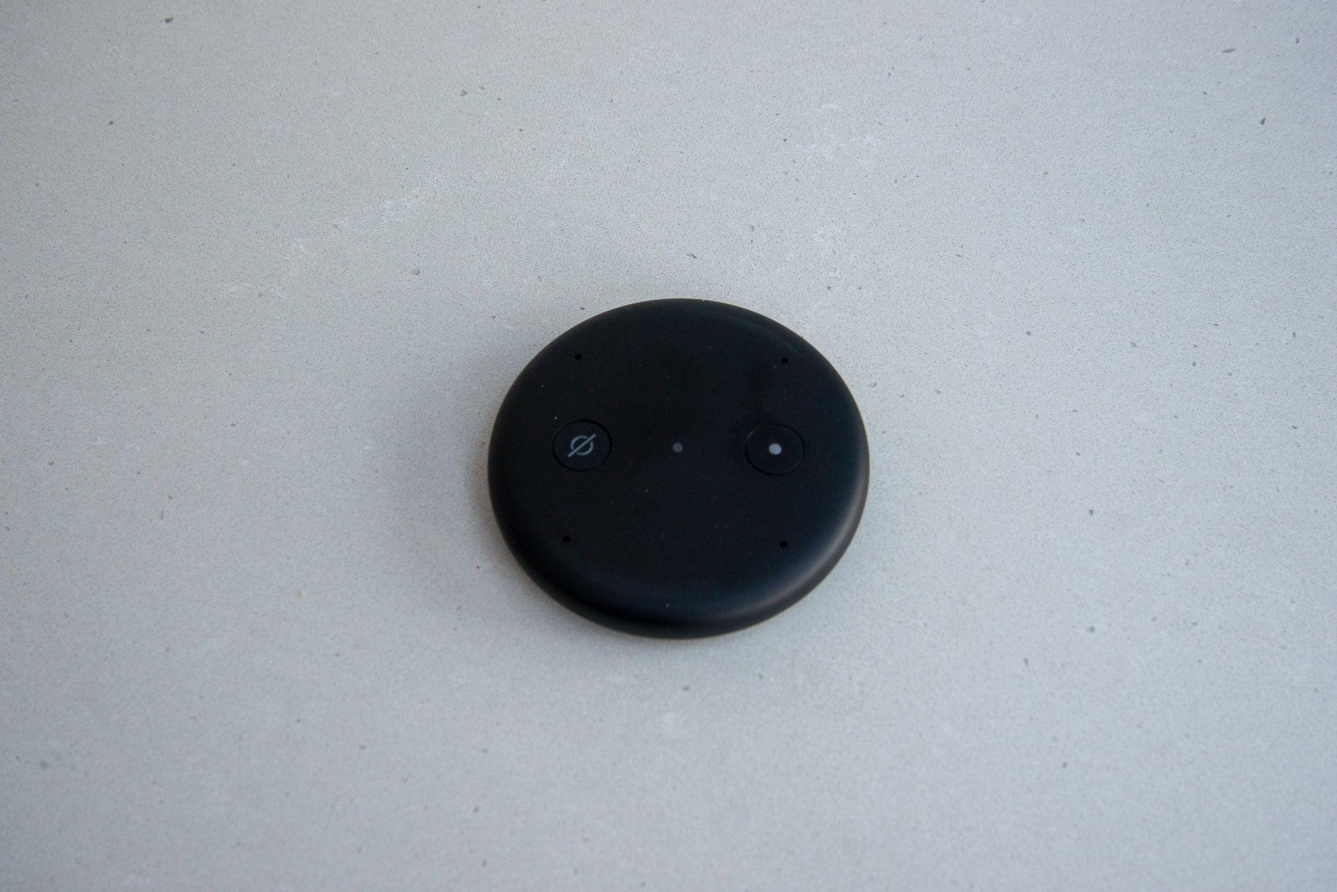 Amazon Echo Input top down