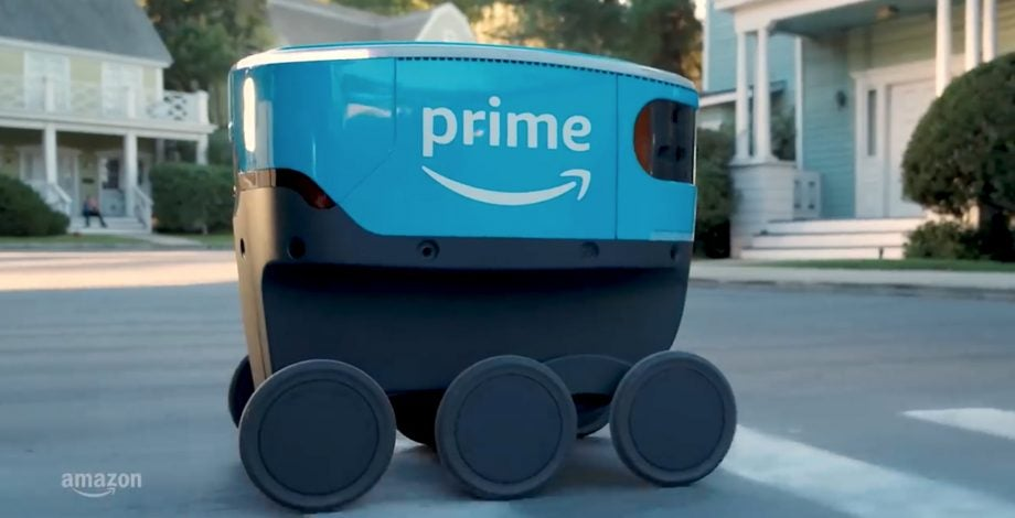 Amazon Scout Robot deliveries Prime