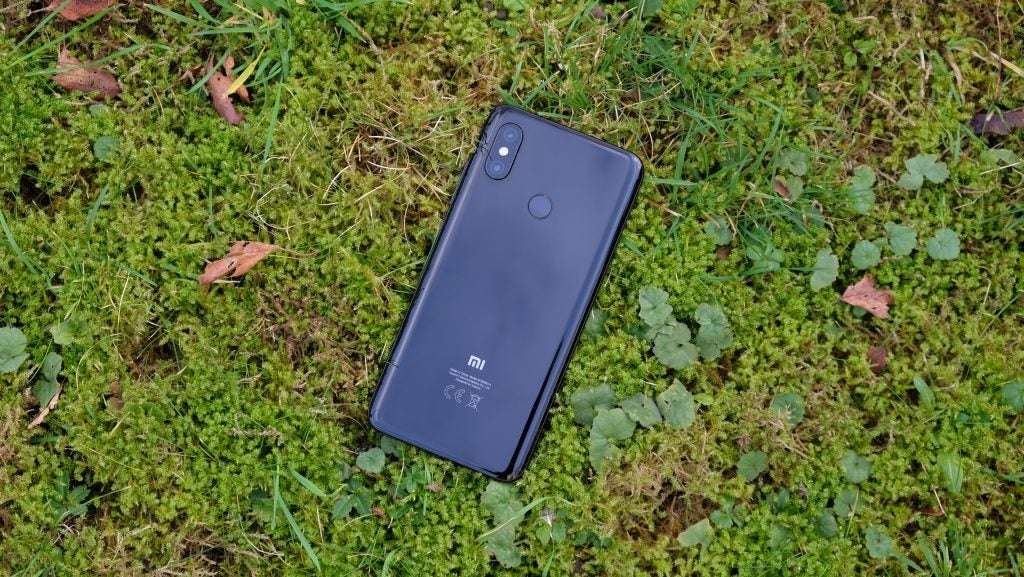 Xiaomi Mi 8 Side-hold