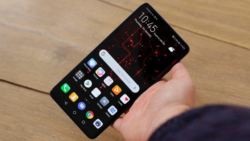 Huawei Mate 20 X handheld