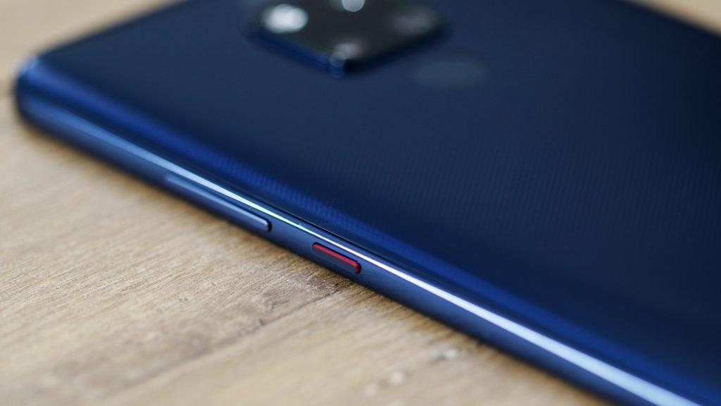 Huawei Mate 20 X power button macro