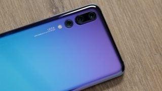 Huawei P20 Pro camera closeup