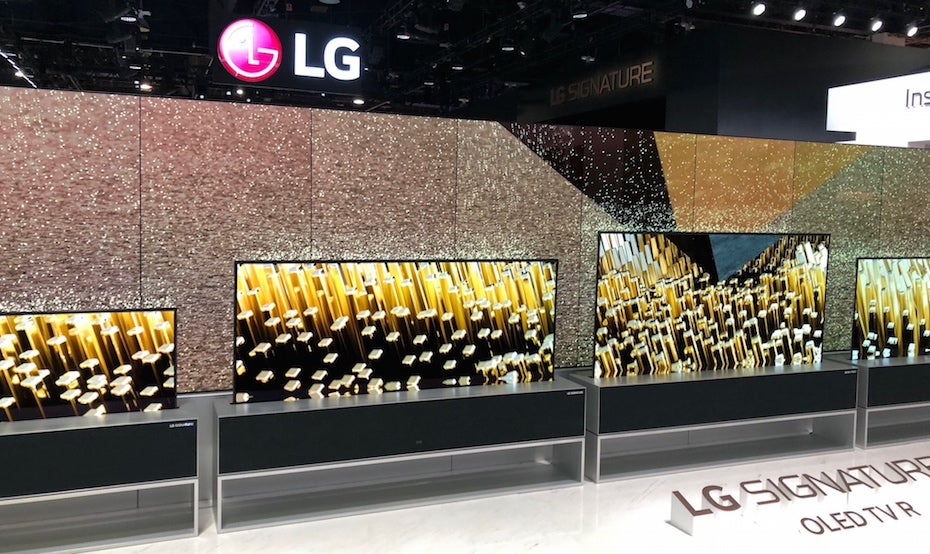 LG Signature OLED TV R first look Review | Trusted Reviews