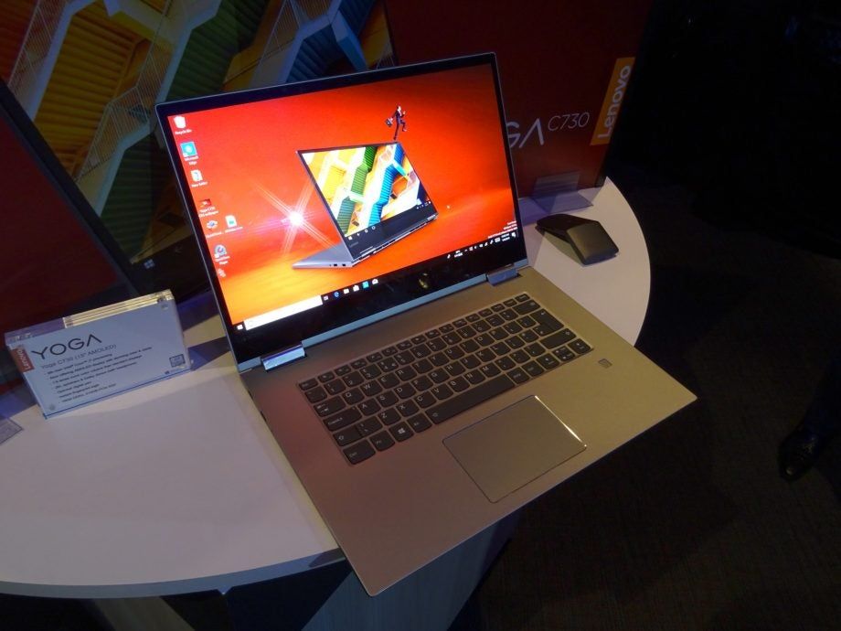 Lenovo Yoga C730 first look: 2-in-1 with a 4K AMOLED turns