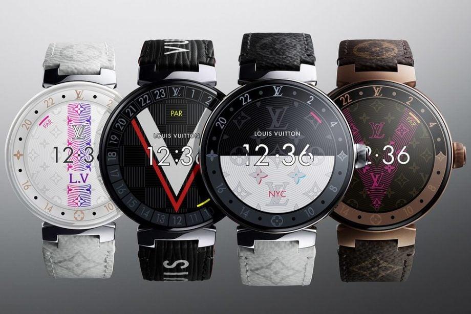 dd28b693e8 Fancy a £2,125 smartwatch? Louis Vuitton's Tambour Horizon range has ...
